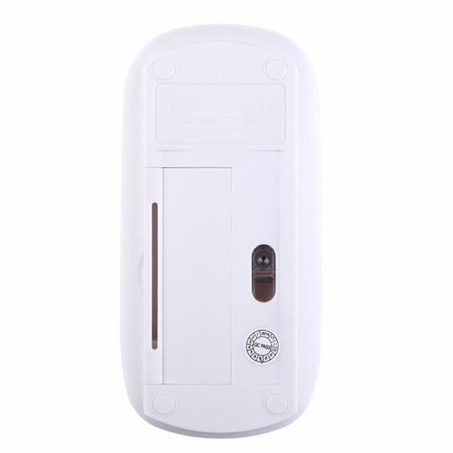 2.4G USB Optical Wireless Computer Mouse 1600 DPI Ultra Slim Mouses For PC Laptop Desktop 8 SL@88