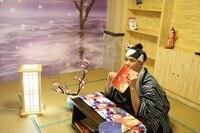 Men's Dress Suit Feather Woven Traditional Warrior Kimono Japanese Wedding Adult Kimono