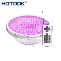 HOTOOK Underwater lights RGB Par56 LED Pool light Waterproof IP68 12V Inground pool Lamp Bulb For Fountain Pond Luz Piscine Kit