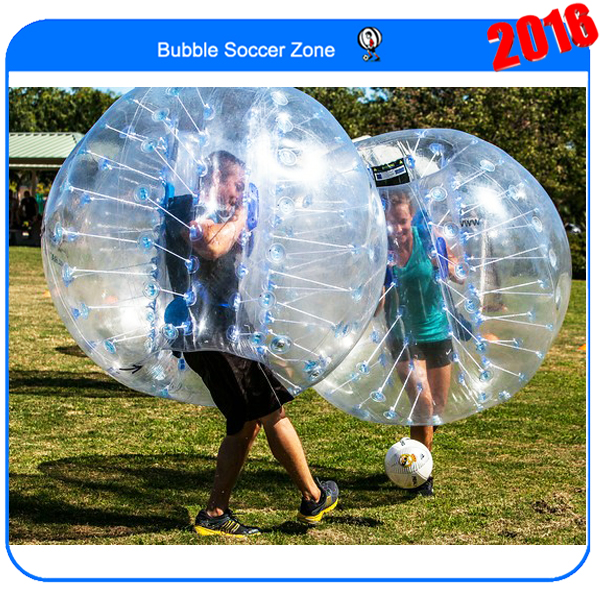 Hot selling  inflatable human bubble inflatable ball suit inflatable bubbles knocker ball