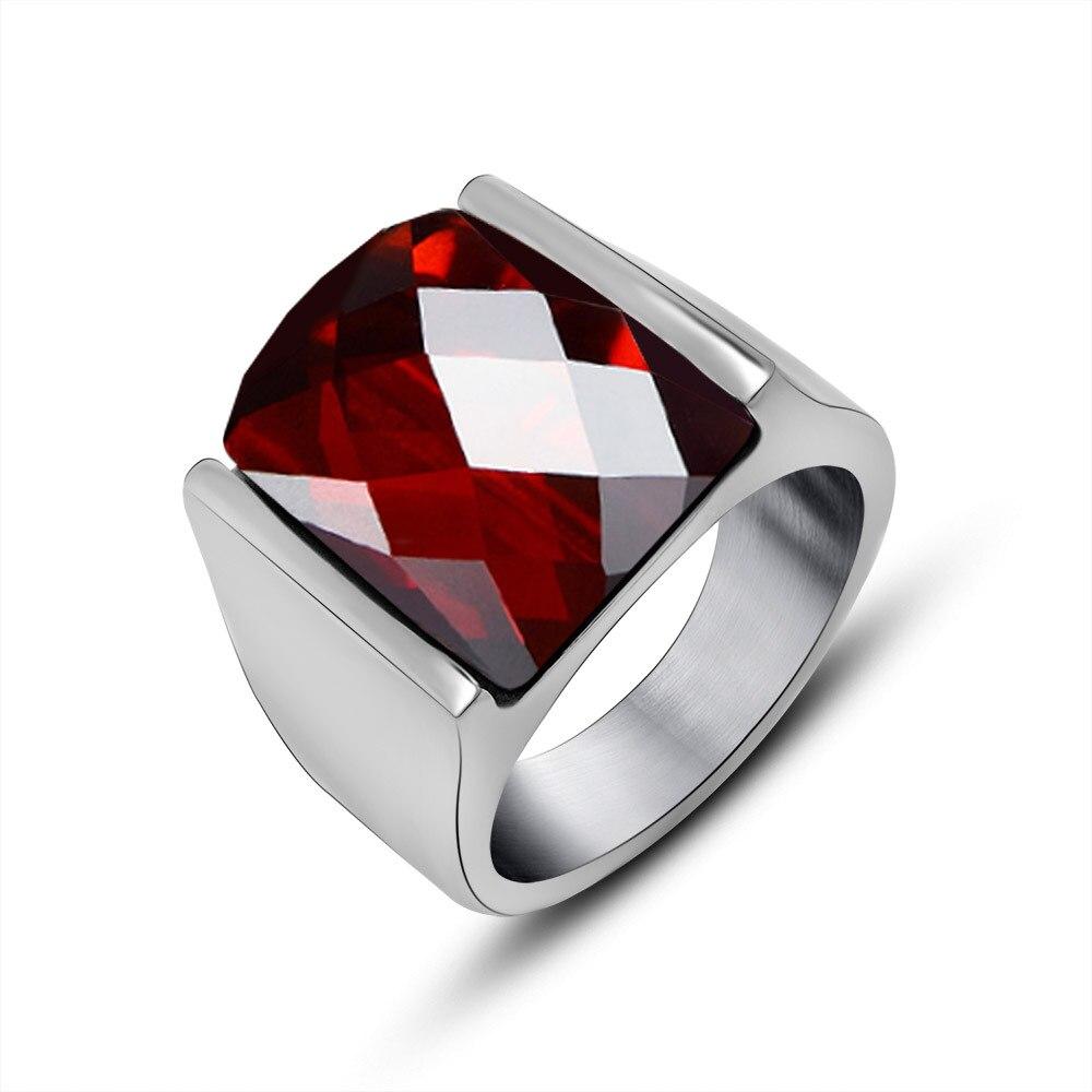 Red rings for men