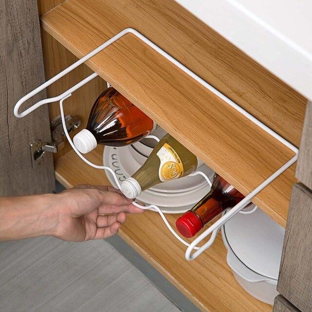 Rack porte-bouteille idéal pour réfrigérateur 4