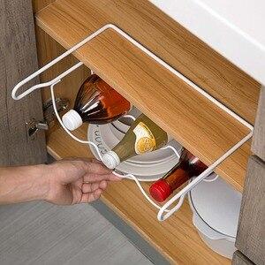 Image 5 - OTHERHOUSE estante de cocina para refrigerador, estante para botella de vino cerveza, organizador de cocina, nevera para almacenamiento, estantes organizadores