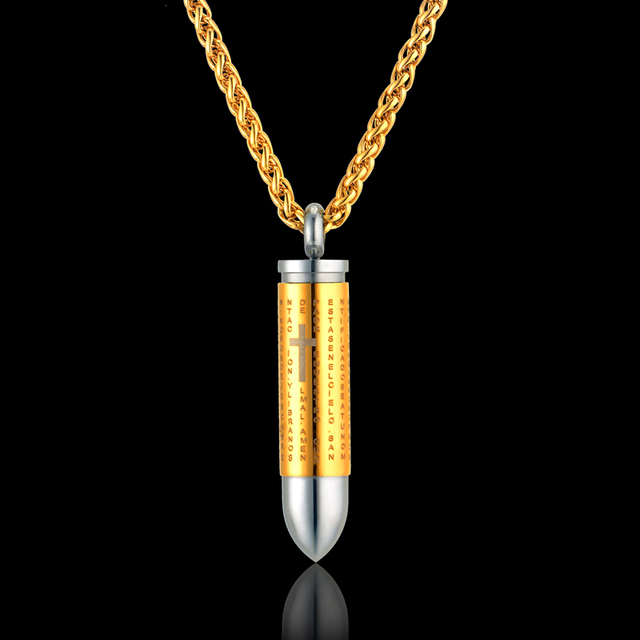 manufacturer dp cobrabraid the plated nickel ball necklace real bullet chain pendant on inch from