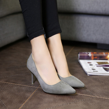Spring and summer women's shoes thin high-heeled pumps shoes nude color heels pointed toe sexy shoes