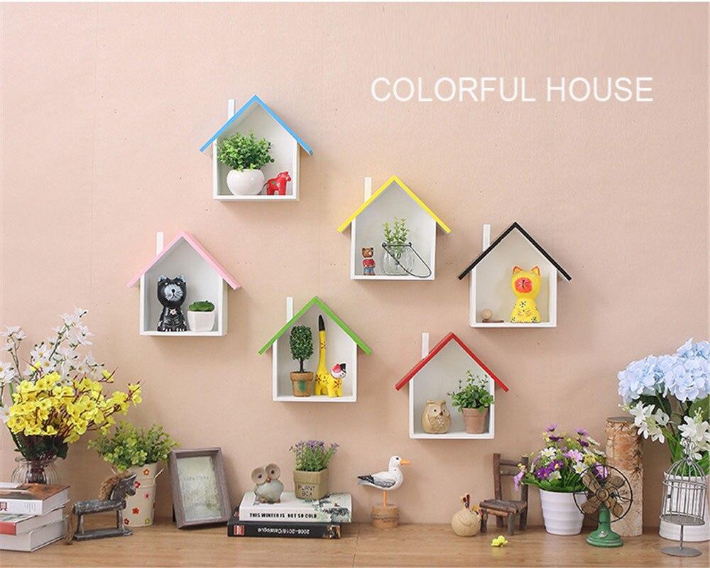 Decorazioni In Legno Per La Casa : Acquista decorazioni la casa mensole arredo in legno stile