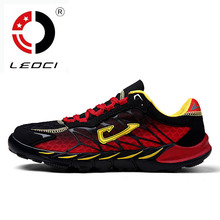 LEOCI 2016 New Mens Running Shoes Breathable Sport Shoes Sneakers Men Shoes Running Cushioning Masculino Esportivo Size 39-44