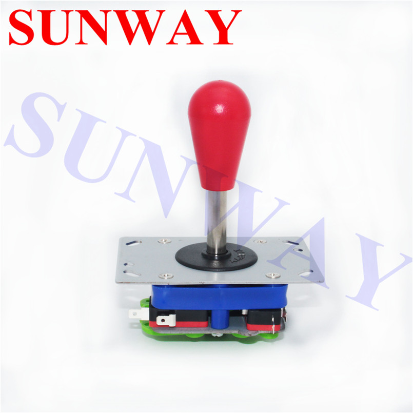 1PC Switchable bat top Arcade Zippy joystick with long/short shaft 2/4/8 ways Operation Controller for Arcade Games Machine