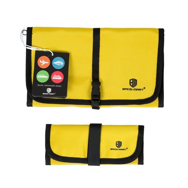 2 Pçs/set Versátil Unidade Eletrônica Acessórios Organizador Organizadores Para Cabos de Fone de ouvido USB Drives Flash Estojo de Viagem Duffle