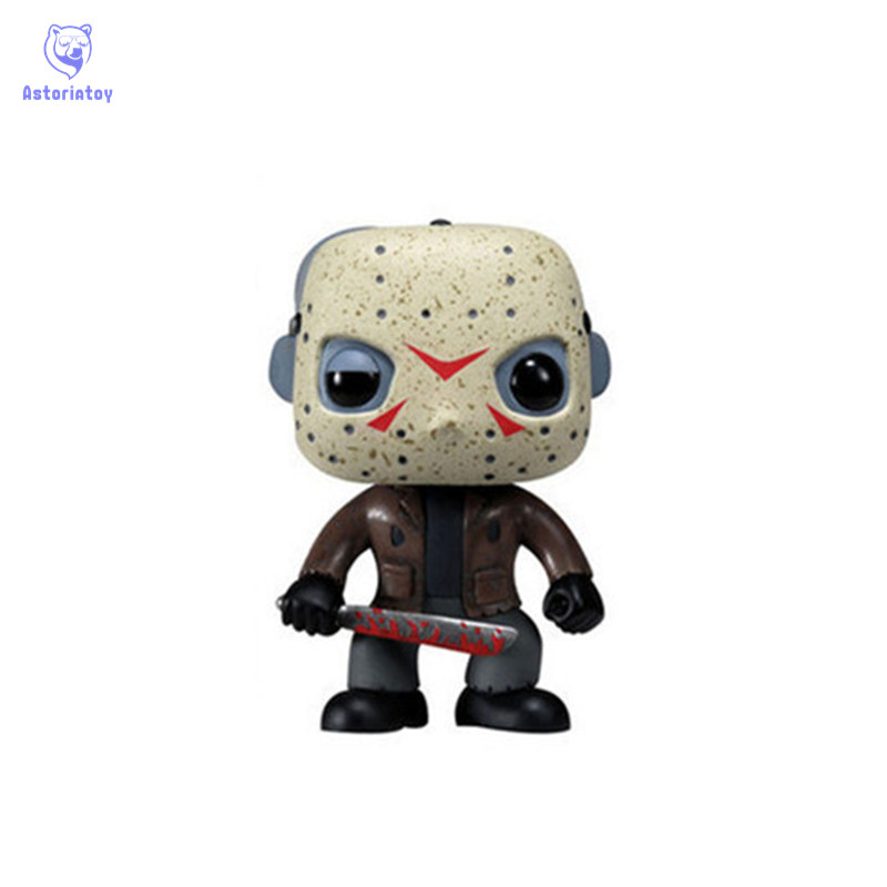 NEW 10cm Friday the 13th Jason voorhees action figure big Bobble Head Q Edition no box for Car DecorationNEW 10cm Friday the 13th Jason voorhees action figure big Bobble Head Q Edition no box for Car Decoration