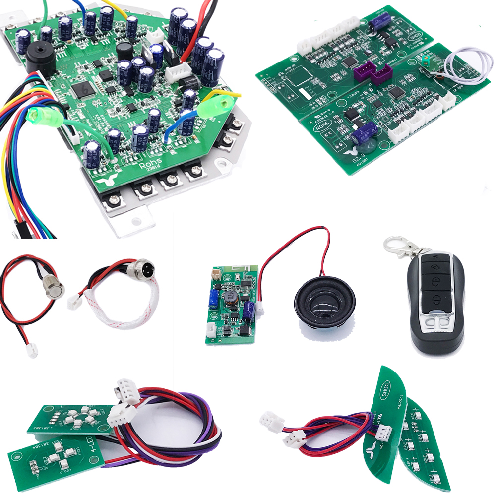 Scooter Motherboard Wi Bluetooth Module Speaker Rc Controller for Hoverboard 2 Wheels Smart Balance Electric Scooter Skateboard 6 5 adult electric scooter hoverboard skateboard overboard smart balance skateboard balance board giroskuter or oxboard