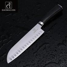 DAOMAOCHEN kitchen knives slicing knives 7 inch high quality steel chef's knife Japanese knife color wood handle kitchen tools