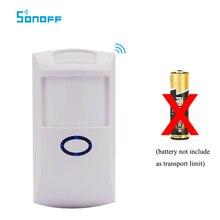 Capteur de mouvement Sonoff PIR2 433Mhz RF PIR Compatible avec le pont RF pour la sécurité dalarme domestique intelligente