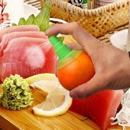 10 Goods for Kitchen Gadgets Lemon Sprayer Fruit Juice Citrus Limon Orange Juice Llemon Squeezer Spray Kitchen Accessories