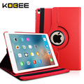 KOBEE 2016 For Apple iPad Pro 9.7 Case Leather Flip Luxury Tablet 360 Rotating Book Stand Smart Cover for iPad Pro 9.7 Case