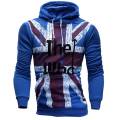 Hoodies Men 2017 Brand Male Long Sleeve Hoodie England Flag Printed Sportswear Mens Moletom Masculino Hoodies Slim Tracksuit