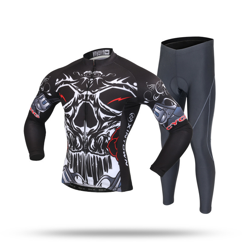 XINTOWN Pro Cycling Jersey Set Long Sleeve Breathable MTB Bike Clothes Wear Kit Men Bicycle Clothing Ropa Maillot Ciclismo polyester summer breathable cycling jerseys pro team italia short sleeve bike clothing mtb ropa ciclismo bicycle maillot gel pad