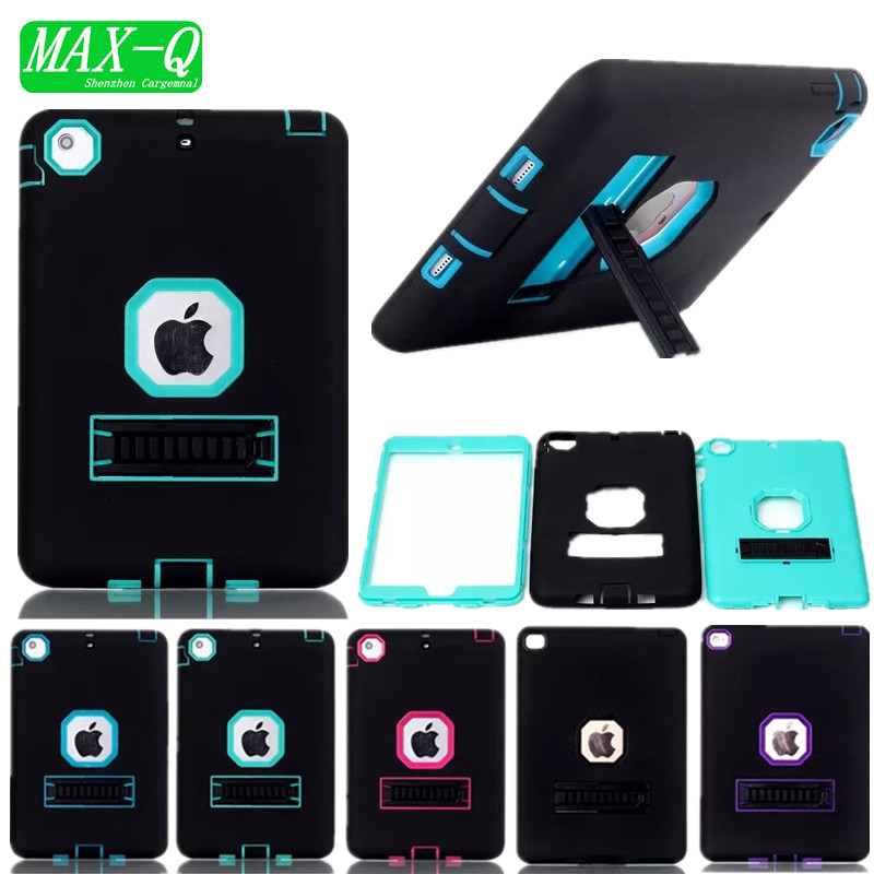 NEW Shockproof Heavy Duty Case For iPad mini 2 Protect Skin TPU Hybrid Cover Stand Case For iPad mini1 3