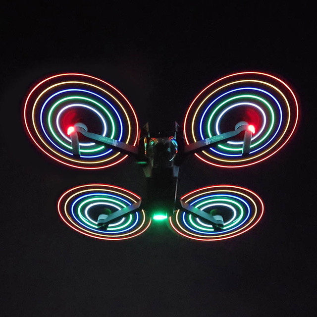 Für DJI Mavic Pro combo ersatzteile LED blitz propeller 8331F propeller