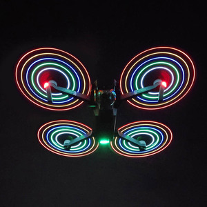 Image 1 - For DJI Mavic Pro combo spare parts LED flash propeller 8331F propeller