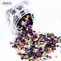 DOCE TENDÊNCIA 1 Garrafa New Colorido Losango Paillette Decoração Manicure Glitter Sparkly Lantejoulas Da Arte Do Prego Unhas Ferramentas de Arte ND296