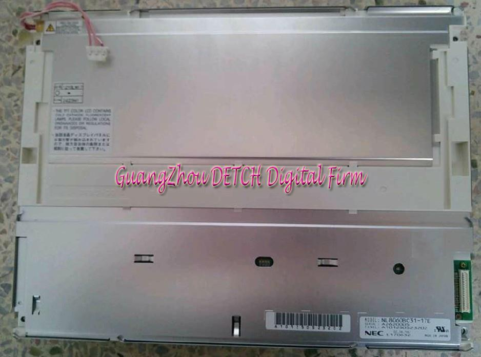 Industrial display LCD screenOriginal NL8060BC31-17E 12.1