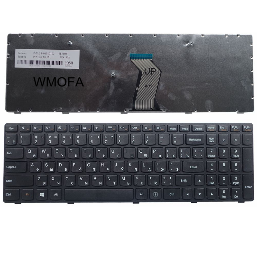 RU Black New FOR LENOVO G500 G510 G505 G700 G710 Laptop Keyboard Russian