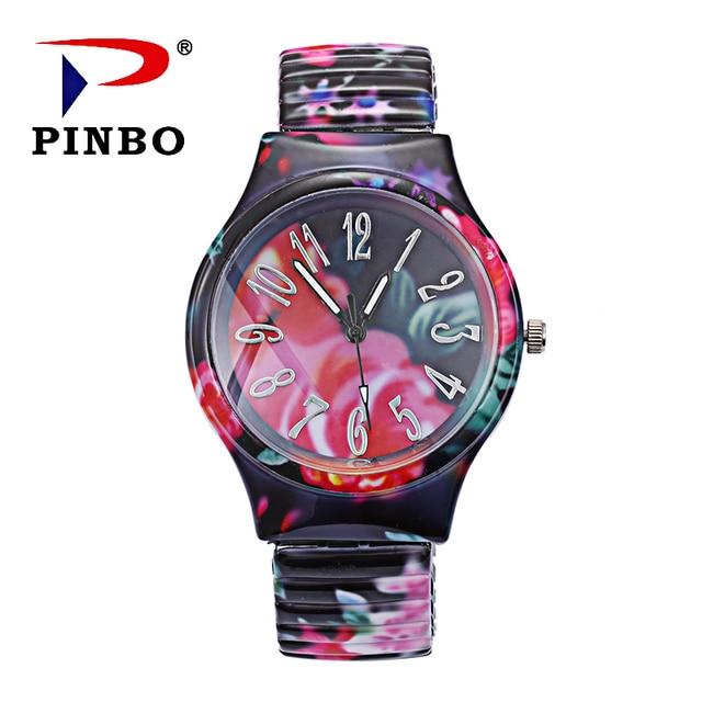 Fashion Women Watch Luxury Women Elasticity Bracelet Quartz Watch Pattern Dress Ladies Clock Relogio Feminino Saat Dropshipping