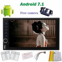 Android 7 1 Car NO DVD Gps Player Stereo Radio Receiver With GPS Navigation Steering Wheel