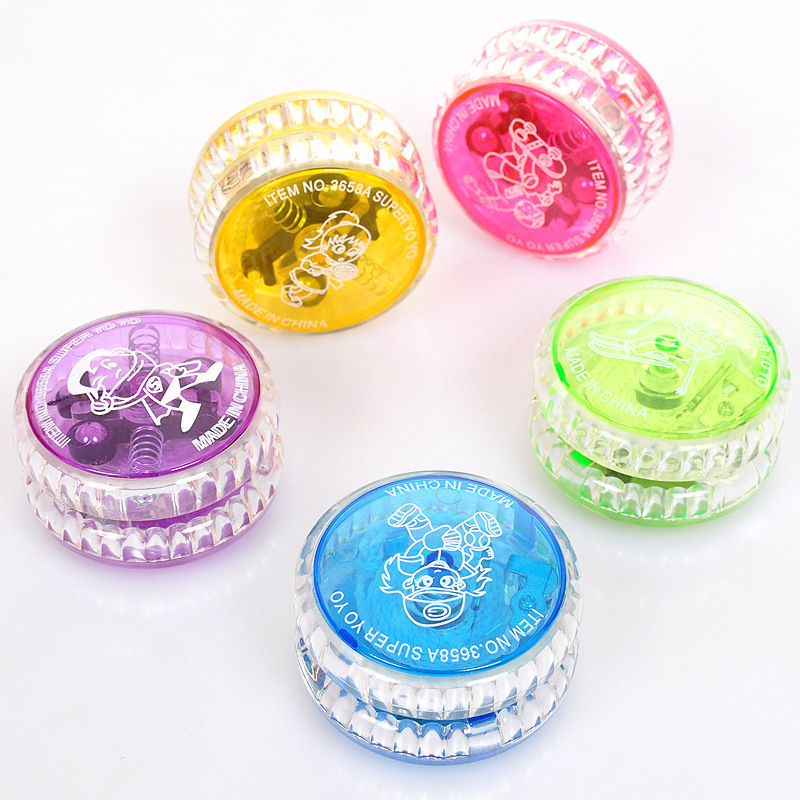 Creative Children's Toys Luminous Flash Classic Yo-yo Free Shipping