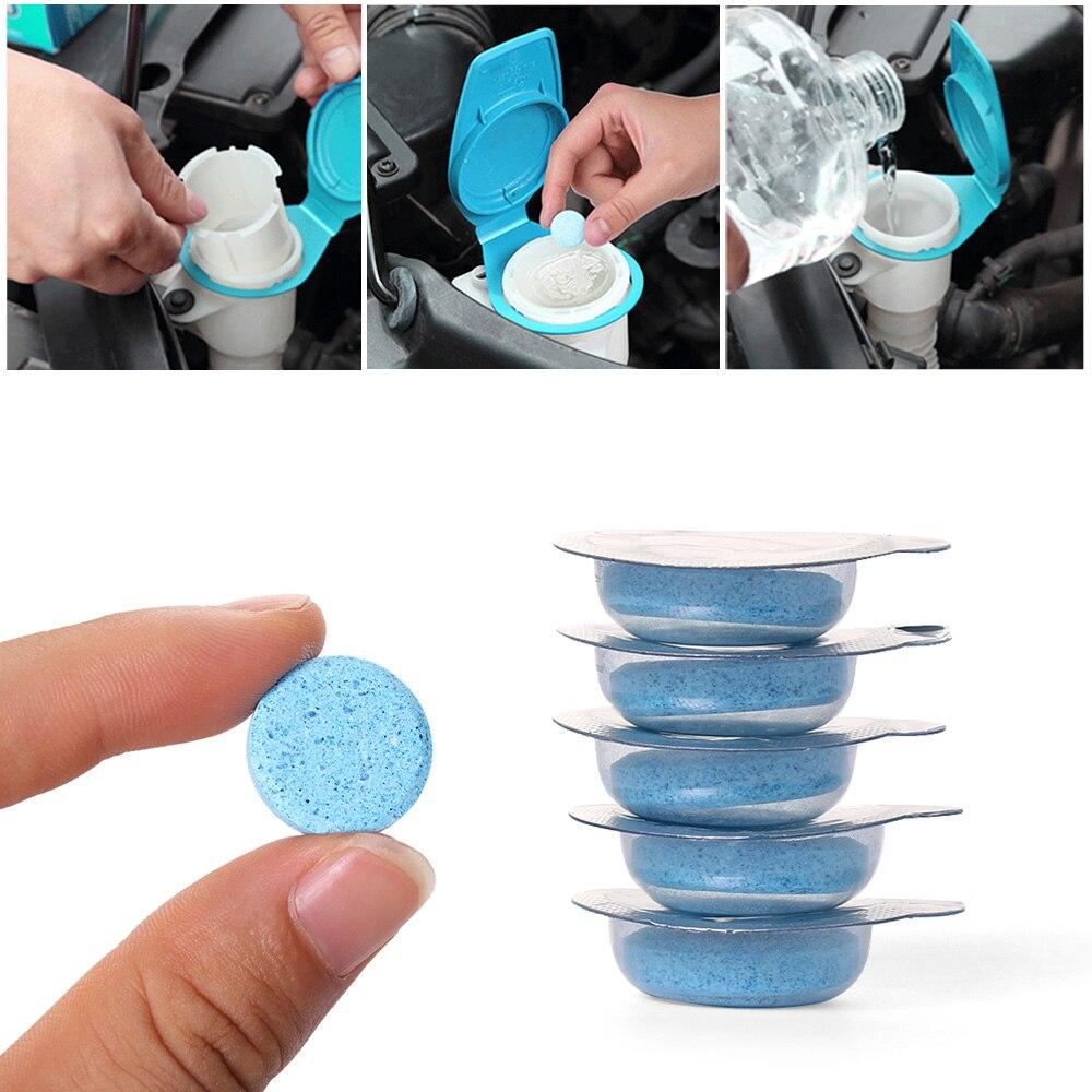 100% Wahr 1/5/10 Stücke Brause Spray Reiniger Konzentrat Multifunktions Tabletten Waschmittel Auto Windschutzscheibe Glas Washer Hause Reinigung Werkzeug