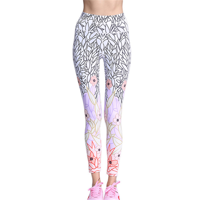 New Fashion Gothic White Printed Leggings Women Super Soft Quick-Drying Activewear Pants Women Winter Plus Size Leggings