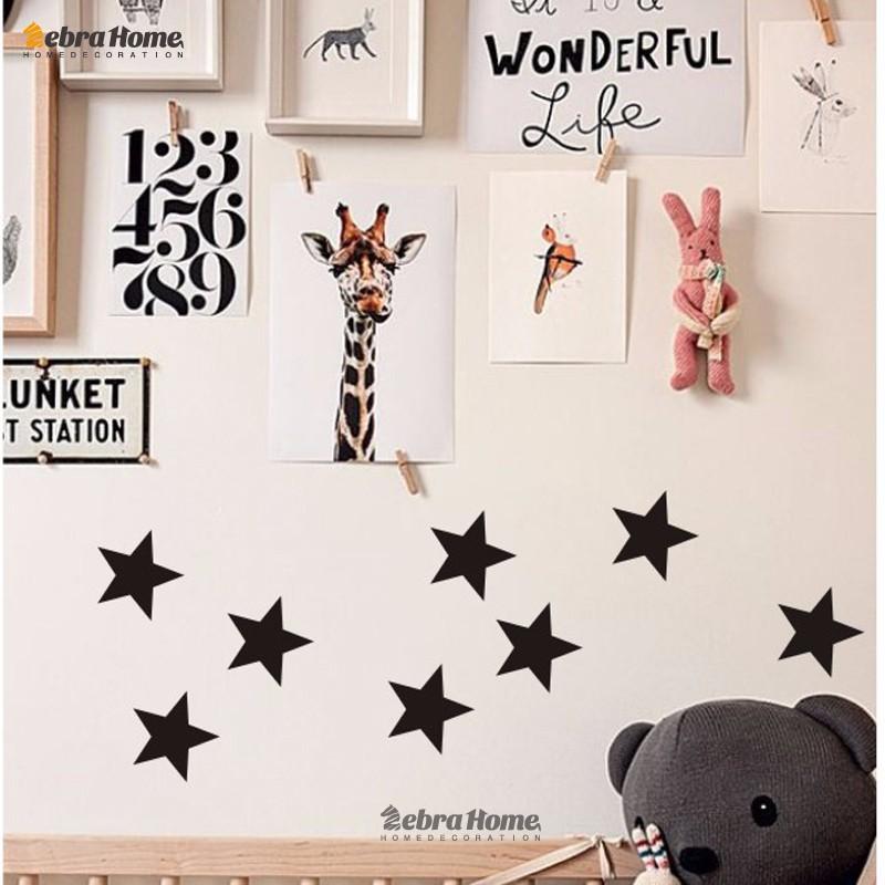 HTB1eDFQMFXXXXa2XVXXq6xXFXXX2 - Custom Color Stars Wall Sticker DIY For Kids Rooms