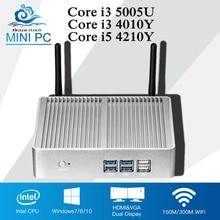 Core HTPC Computer i3 5005U 4010U i5 font b Mini b font font b PC b