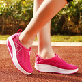 Высота Увеличение Женщины Повседневная Обувь 2015 Летние Ботинки Женщин Свинг Ботинки Клин, передышку Воздуха сетки Mujer Криперс sapatos