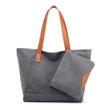 New Canvas Bag Female Shoulder Bag European Bnd American Fashion Large Capacity Wild Child Casual Canvas Bag Female Tide Bag сумка через плечо new 2014 hot canvas bucket bag female casual shoulder bag 2015 bl059