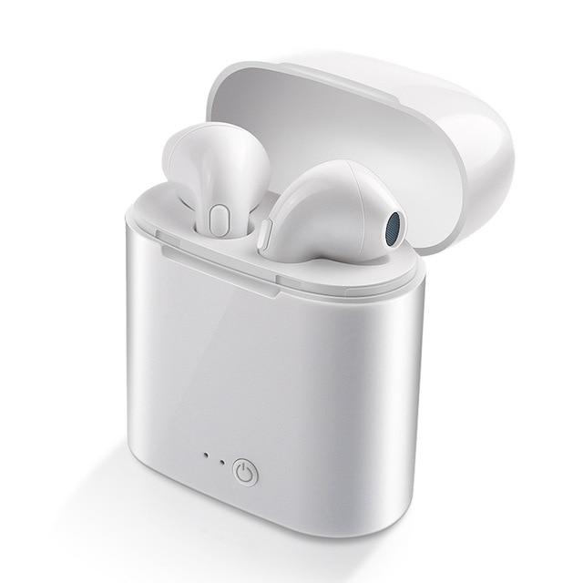 WPAIER I7S TWS Bluetooth écouteurs portables sans fil casque avec étui de charge mini bluetooth casques universels type I7STWS