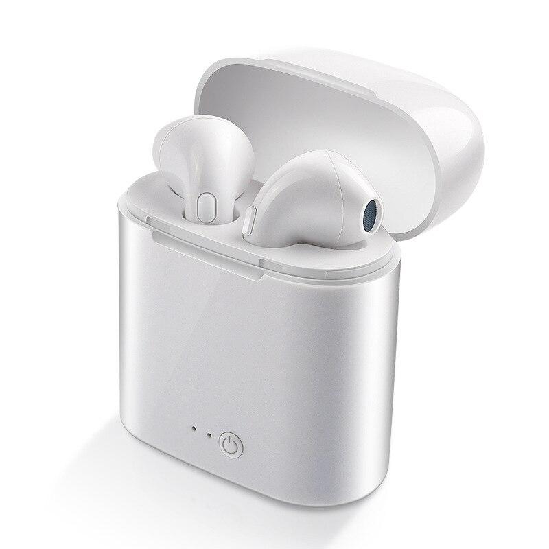 WPAIER I7S TWS auriculares Bluetooth auriculares inalámbricos portátiles con caja de carga mini auriculares bluetooth tipo Universal I7STWS