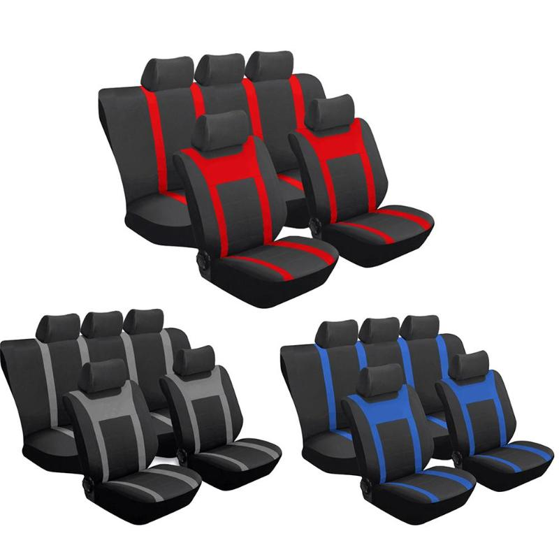 Surprising Us 22 45 23 Off Universal Car Seat Cover 9Pcs Car Front Rear Seat Head Rest Full Set Protector Covers Auto Chair Seat Covering In Automobiles Seat Gmtry Best Dining Table And Chair Ideas Images Gmtryco