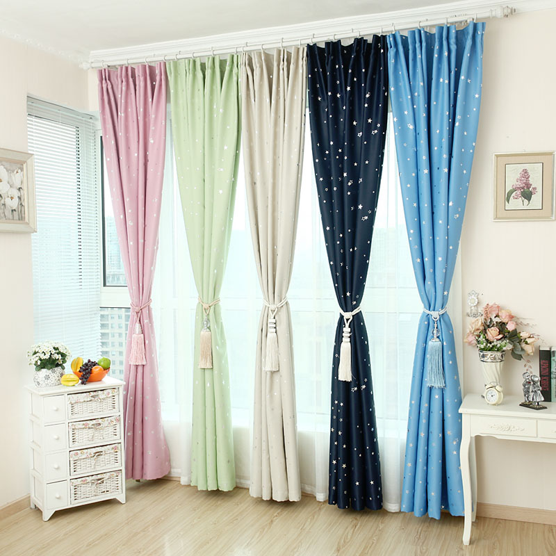 Buy cartoon star design quality for Star material for curtains
