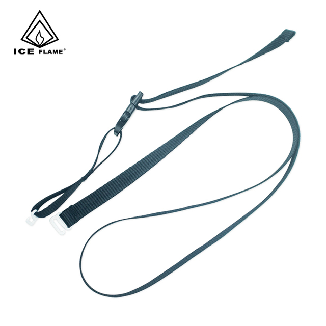 1 piece Ice Flame Down Sleeping Bag Strap Elastic Ribbon Belt