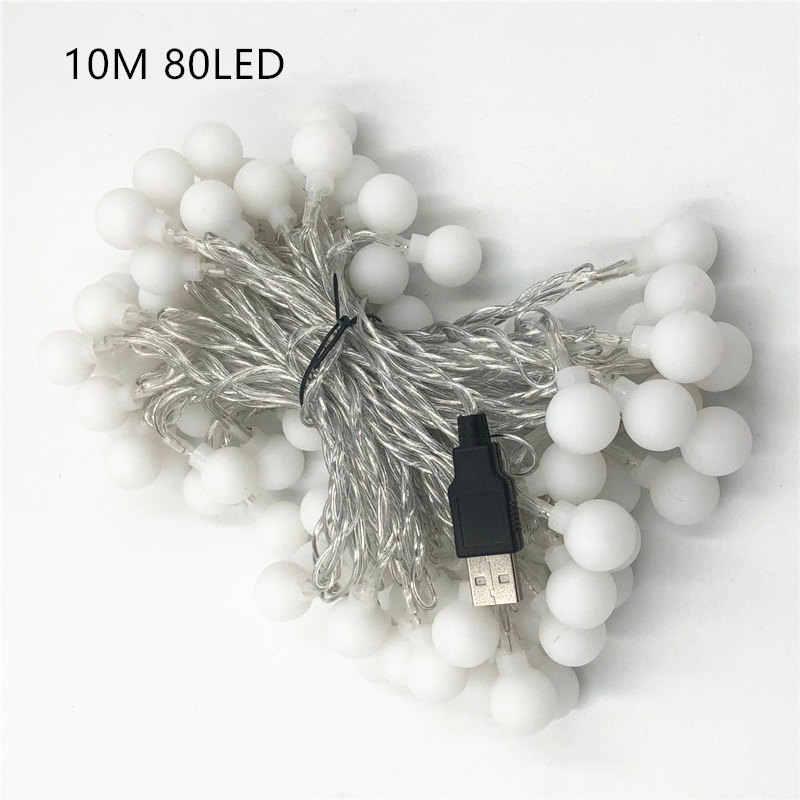 Рождественские огни 10 м 5 м 3 м светодиодный свет шнура USB Водонепроницаемая гирлянда для вечерние, на свадьбу, на праздник, светодиодный свет украшения гирлянды