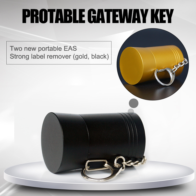 2017 gold magnetic detacher for eas hard tag wine bottle security tag remover spider tag opener free shipping Wholesale