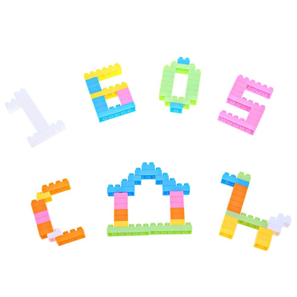 unids inteligente profesional juegos de puzzle nios mezclado plstico creativo diy ladrillos de construccin para