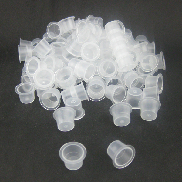 100pcs 15mm Large Size Tattoo Ink Cups Caps Supply IC15-100#
