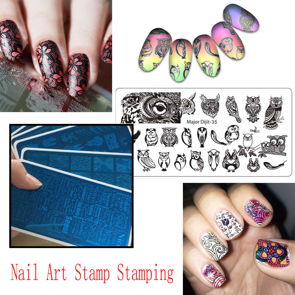 Dazzling Girl Store 2018 New Arrival DIY Nail Art Stamp Stamping ...