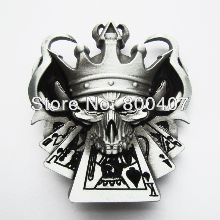 Distribuer détail Crâne Royal Grippes Poker Casino Emo Ceinture Boucle  BUCKLE SK012 Livraison Gratuite dans Ceintures et Cummerbunds de Vêtements  ... 8e6d154c709