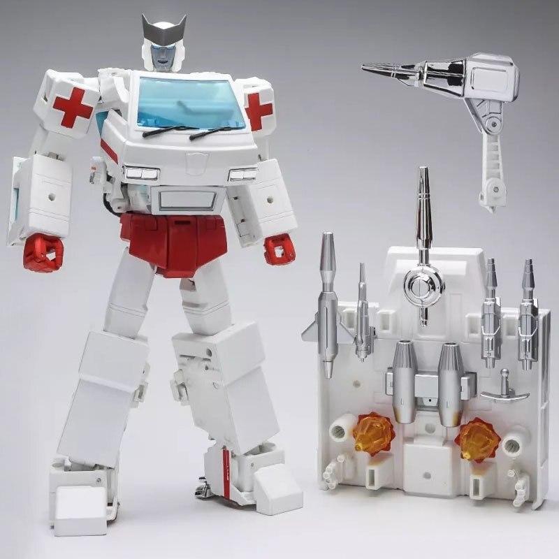 Nouveauté WeiJiang Transformation MPP30 chef-d 'œuvre MP30 surdimensionné alliage métal pièce Robot figurine modèle