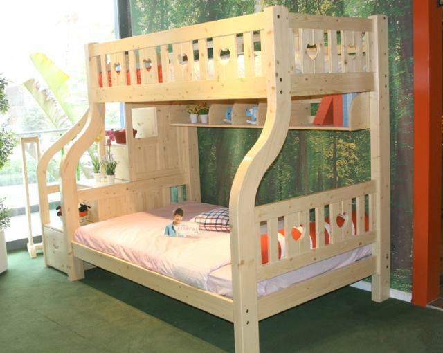 Kinder Etagenbett Mit Schrank : Unter der versorgung leiter kabinett holz schrank bett kinder