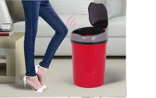 цена Sensor Automatic  Dustbin Intelligent Garbage Bin Trash Can with USB  Waste Bins For Kitchen Office living room онлайн в 2017 году